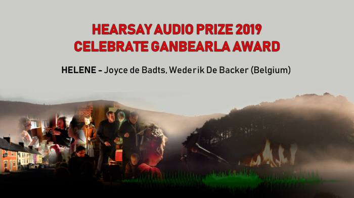HearSay Audio Prize - Ganbearla Award 2019